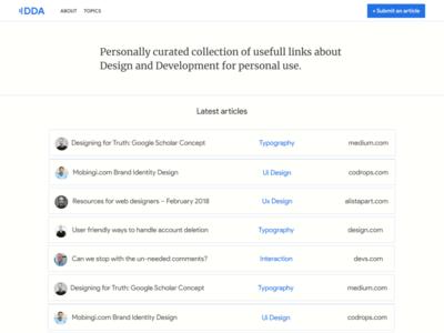Design And Development Article Resource