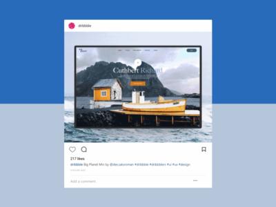 Instagram Post Clone - Design clone
