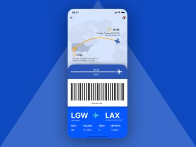 Flight app concept