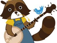 Banjo Raccoon!