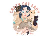 Crazy Cat Lady Logo!