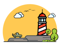 Light House - Illustration