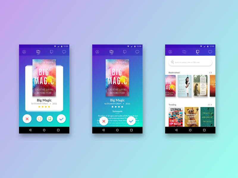 Book Swap App by Chinmayi Dumbre on Dribbble