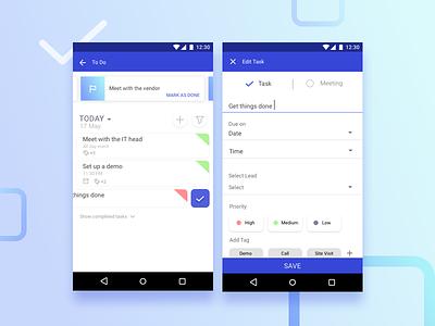 Todo- CRM App list productivity crm task todo