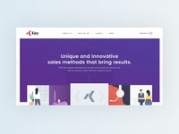 What We Do Page Design for Key Solutions