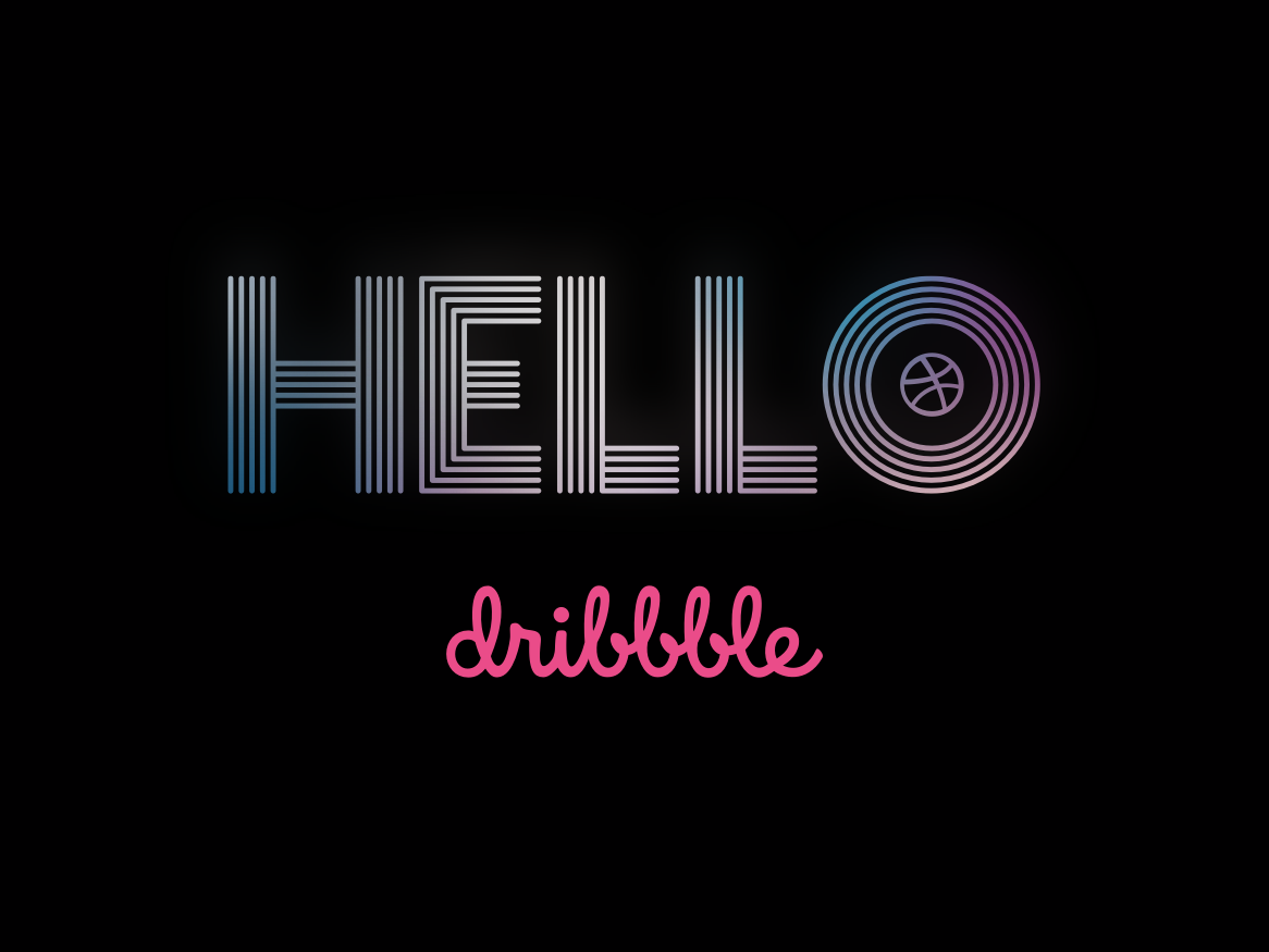 Hello Dribbble! 2019 tv series sketch typography euphoria hellodribbble firstshot