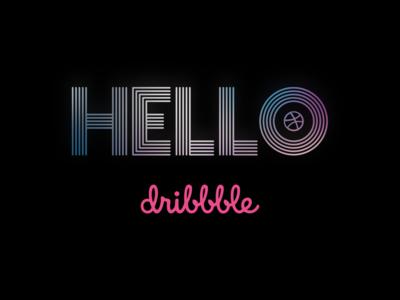 Hello Dribbble! 2019 tv series sketch typography euphoria hellodribbble firstshot