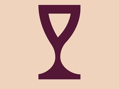 wino branding nwo illustration vector design logo wine glass wine illustrator