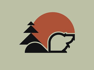 justin beaver logo illustration illustrator beaver