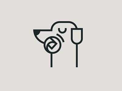 newspaper delivery newspaper logo branding design illustration illustrator dog