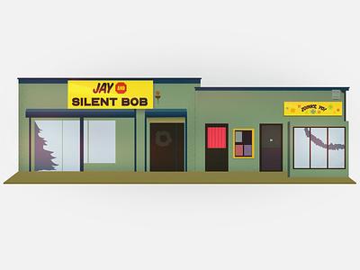 jay and silent bob christmas card illustrator christmas bob silent and jay