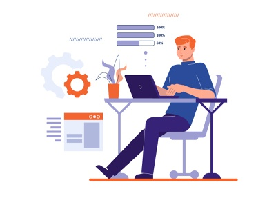 Working hours in office safety safe secure security decentriq developer workspace office space charts diagrams icons working hours office worker worker office work laptop work office