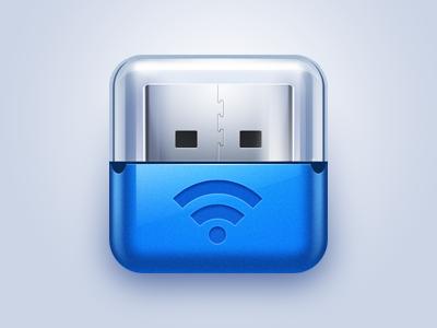 Wifi Usb icon ios iphone usb