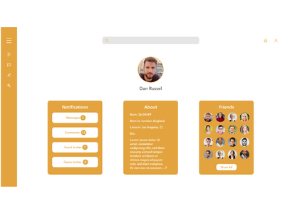 Social Media Profile Idea