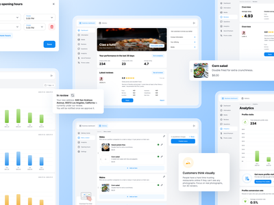 Frie - restaurant management app ui design ux design restaurant management order dashboad restaurant dots ux