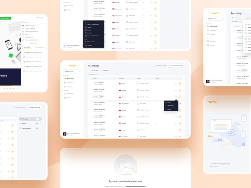 Userfy - analytics tool