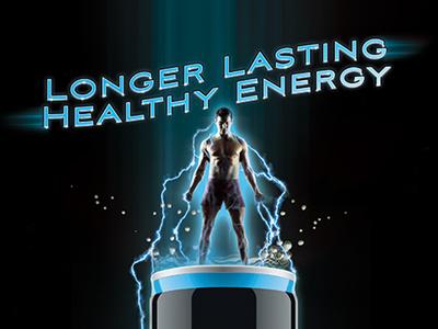 Energy Drink Flyer Design flyer poster design energy drink promotional athletic advertisement