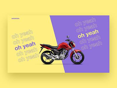 Honda Visual Concept study honda color fun bike