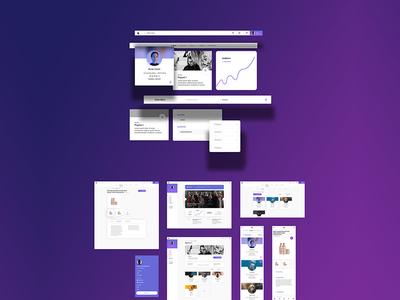 NEXT purple brand style guide ui design uidesign ui  ux uiux ui brand system brandsystem branding design brand design brand identity branding brand