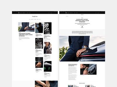 TAGHEUER.COM luxury design luxurious luxury corporate minimalist minimal interaction design interactive interaction interface website builder website concept website design websites website magazine design magazine
