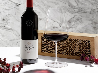 Ao Yun instagram minimalist minimal luxury luxe alcohol bottle red wine wine