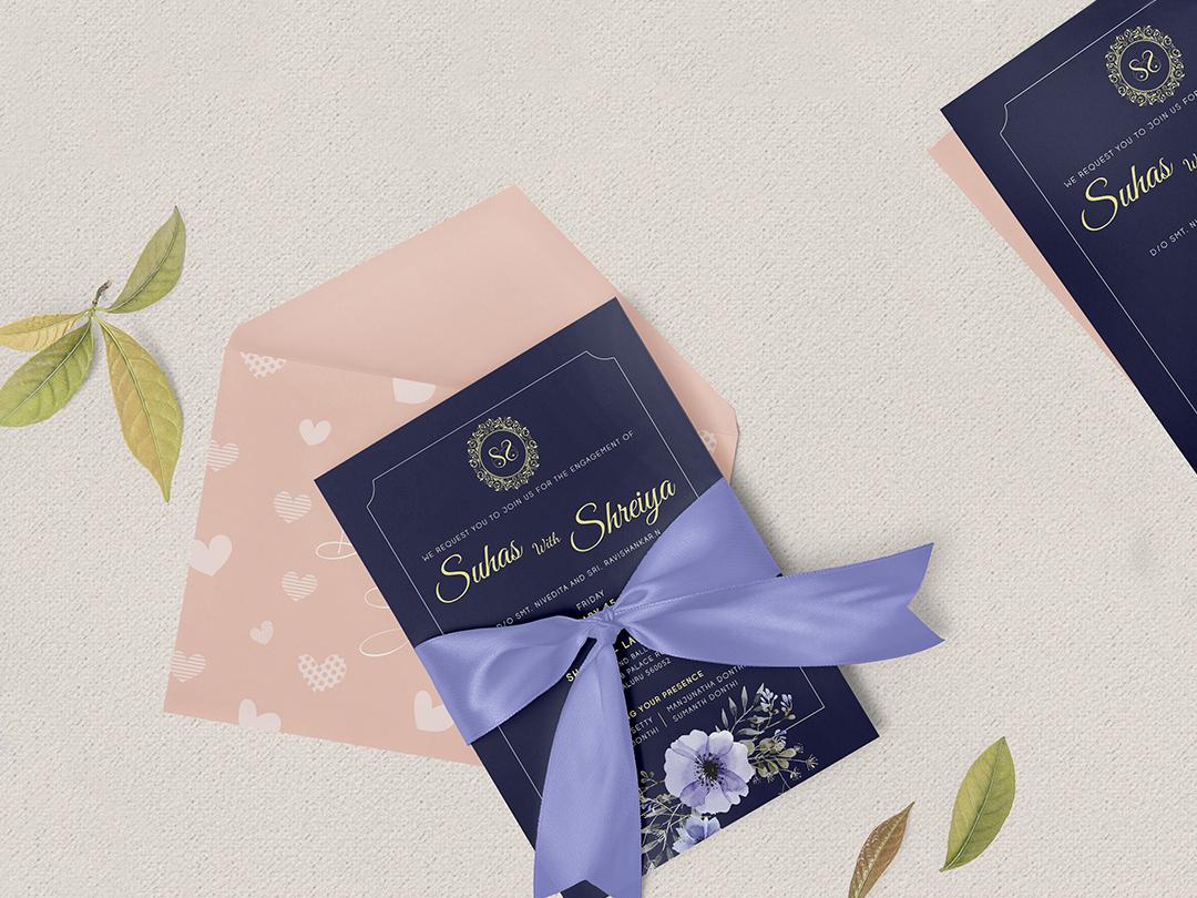 Wedding Invitation Design By Itcroc On Dribbble