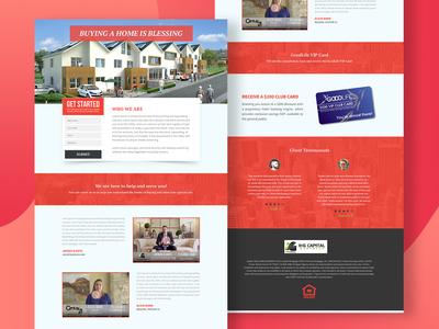 K & G Landing Page