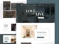 Remodeling Website Concept