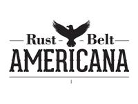 Rust Belt Americana Logo Round 1