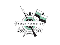 French Revolution Coat of Arms motiongraphics motion design coat of arms banner vector illustration 2d animation