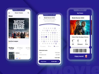 Concept of the cinema app