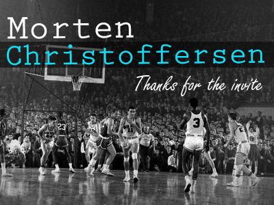 Thanks Morten
