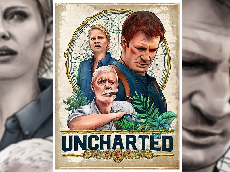 Uncharted Fan Film Poster By Chris Di Benedetto On Dribbble