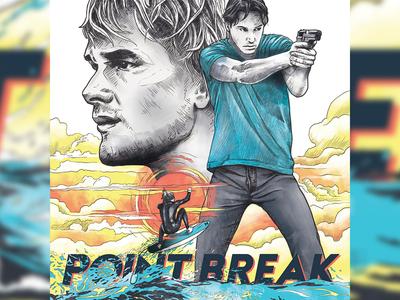 91 Point Break Poster