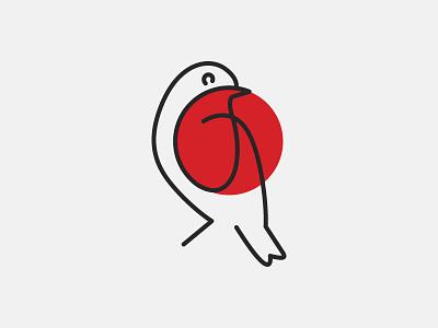 Robin's Nest branding visual identity logo bird robin robins nest