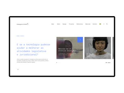 Lawgorithm  • Website