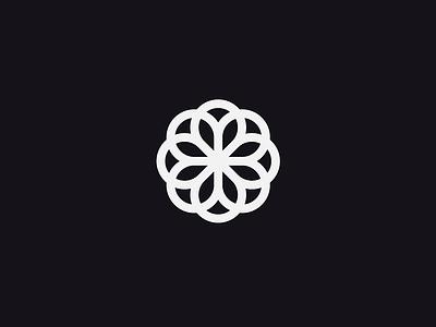 Flower designisjustform flower sign type logo