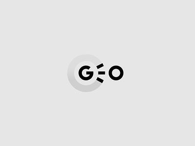 GEO designisjustform geo sign type logo