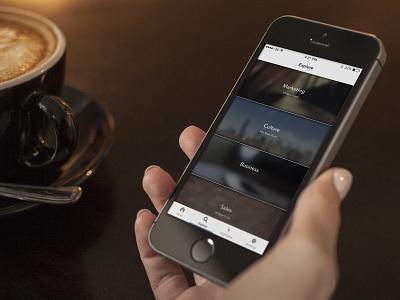 Explore feed mobile ios