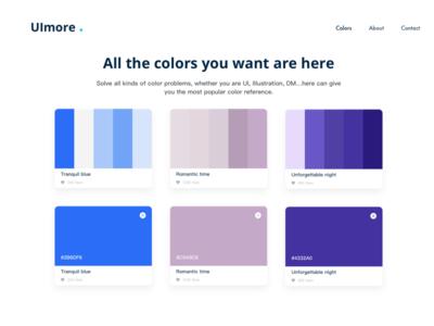 most popular colors