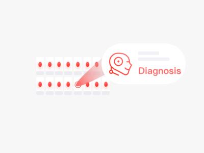 Slices web scannin pathology microscope mg medical icon graphics