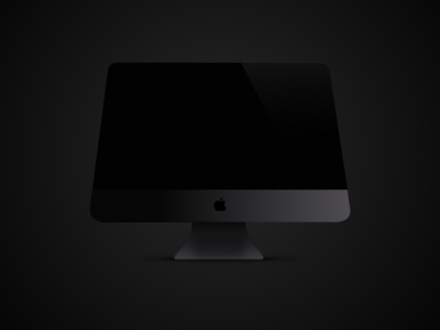 iMac Pro icon ui sketch ai imacpro imac icon