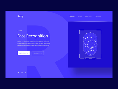 AI Face Recognition Animation motiongraphics motion design motion video after effects motion graphics hero banner web hero animation after effects ae svg lottie recognition face