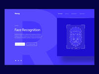 AI Face Recognition Animation