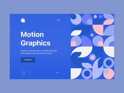Daily Lottie Animation after effects clean design lottie ae video hero web ui motiongraphics motion motion graphics animation