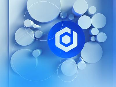 Logo 3d Design ux ui brand logo web 3d