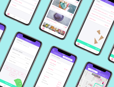 iScream App Branding