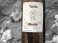 Taste Waste / Dump Dining Poster Series