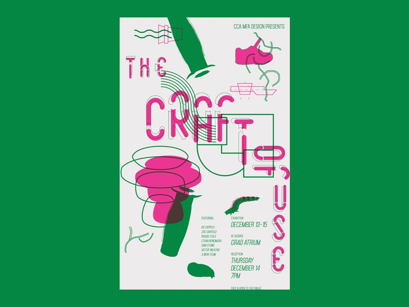 Craft of Use / RISO POSTER print