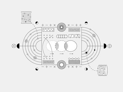 Illustration | Six Strategies For Innovation data-viz illustration graphic design